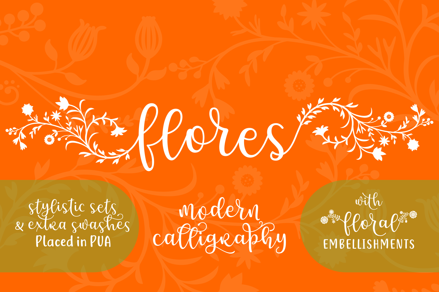 Print on Demand: Flores Script & Handwritten Font By Creative Fabrica Fonts - Image 2