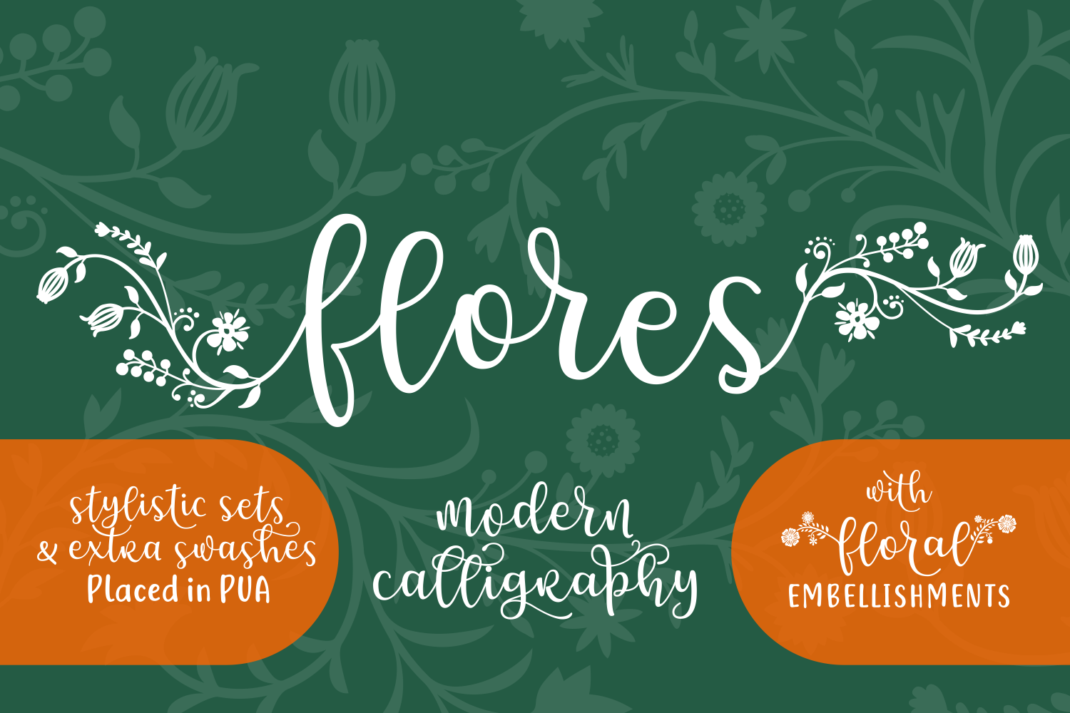 Print on Demand: Flores Script & Handwritten Font By Creative Fabrica Fonts - Image 8