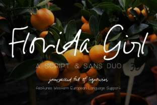 Florida Girl Script by AutumnLanePaperie