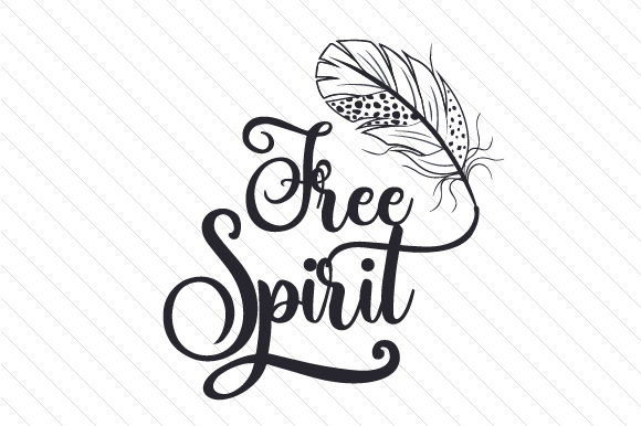 Free Spirit Svg Cut File By Creative Fabrica Crafts