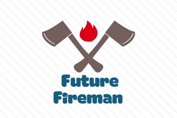 Future Fireman Kids Craft Cut File By Creative Fabrica Crafts