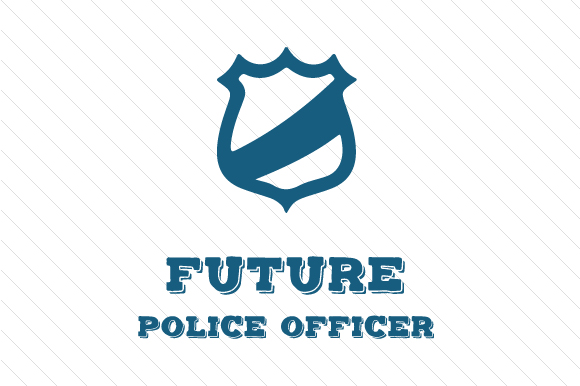 Future Police Officer Kids Craft Cut File By Creative Fabrica Crafts