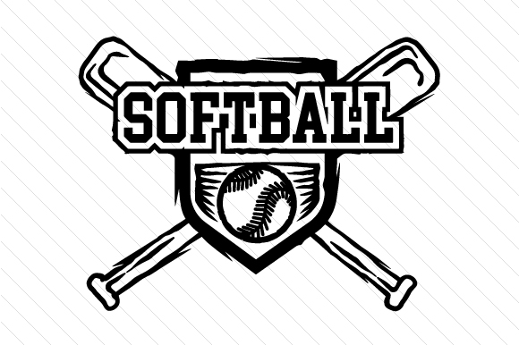 Download Free Girls Softball Svg Cut File By Creative Fabrica Crafts for Cricut Explore, Silhouette and other cutting machines.