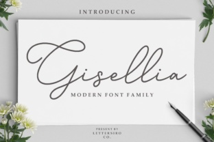 Gisellia by Lettersiro Co.