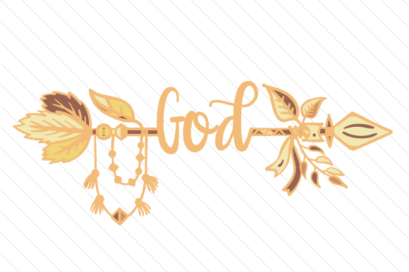 Download Free God Boho Arrow Svg Cut File By Creative Fabrica Crafts for Cricut Explore, Silhouette and other cutting machines.