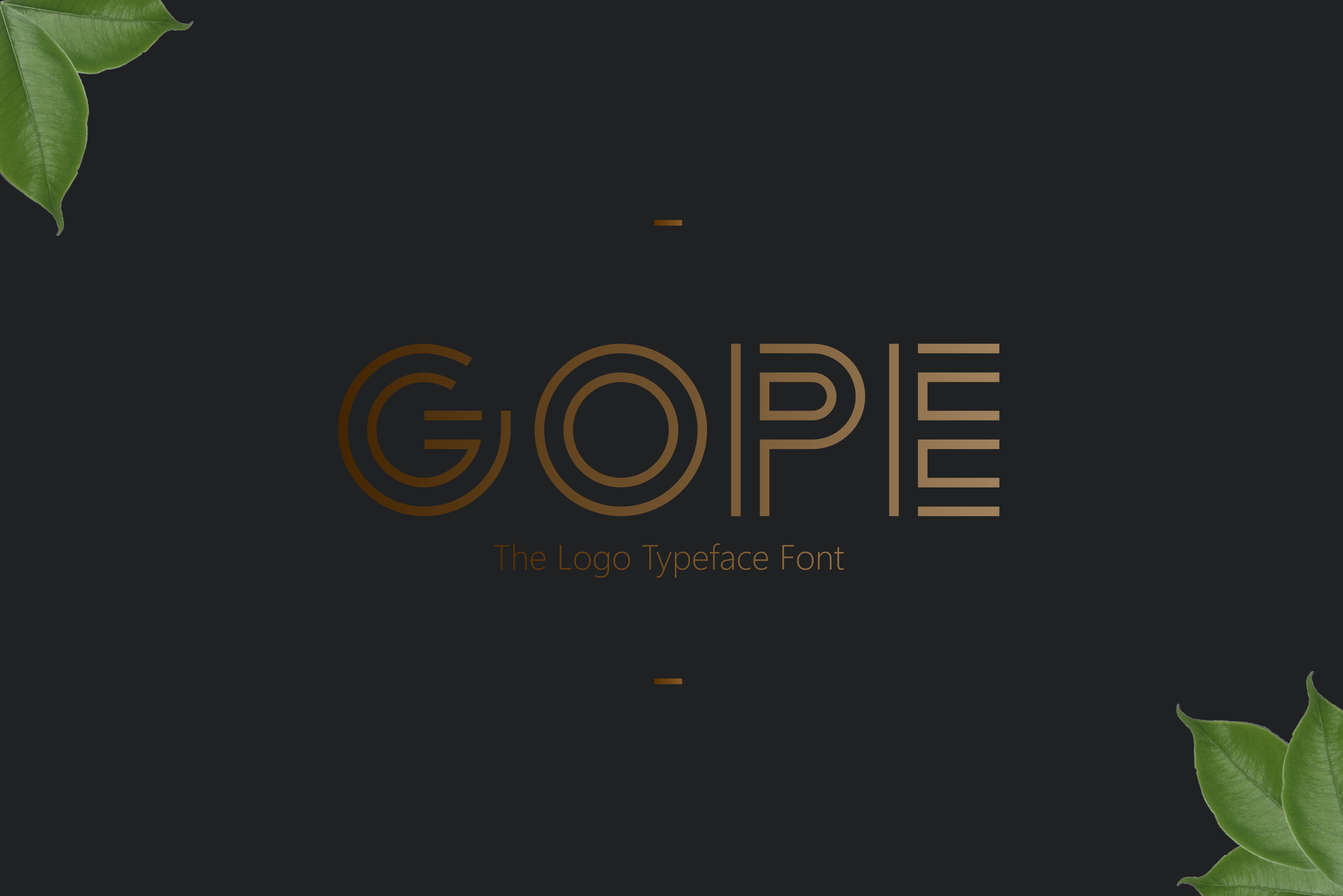 Print on Demand: Gope Display Font By Graphicfresh - Image 1