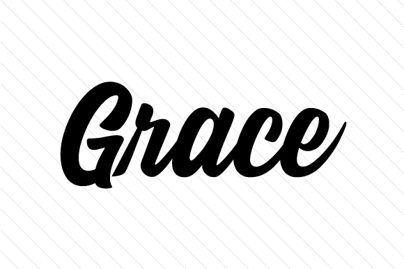 Download Free Grace Svg Cut File By Creative Fabrica Crafts Creative Fabrica for Cricut Explore, Silhouette and other cutting machines.