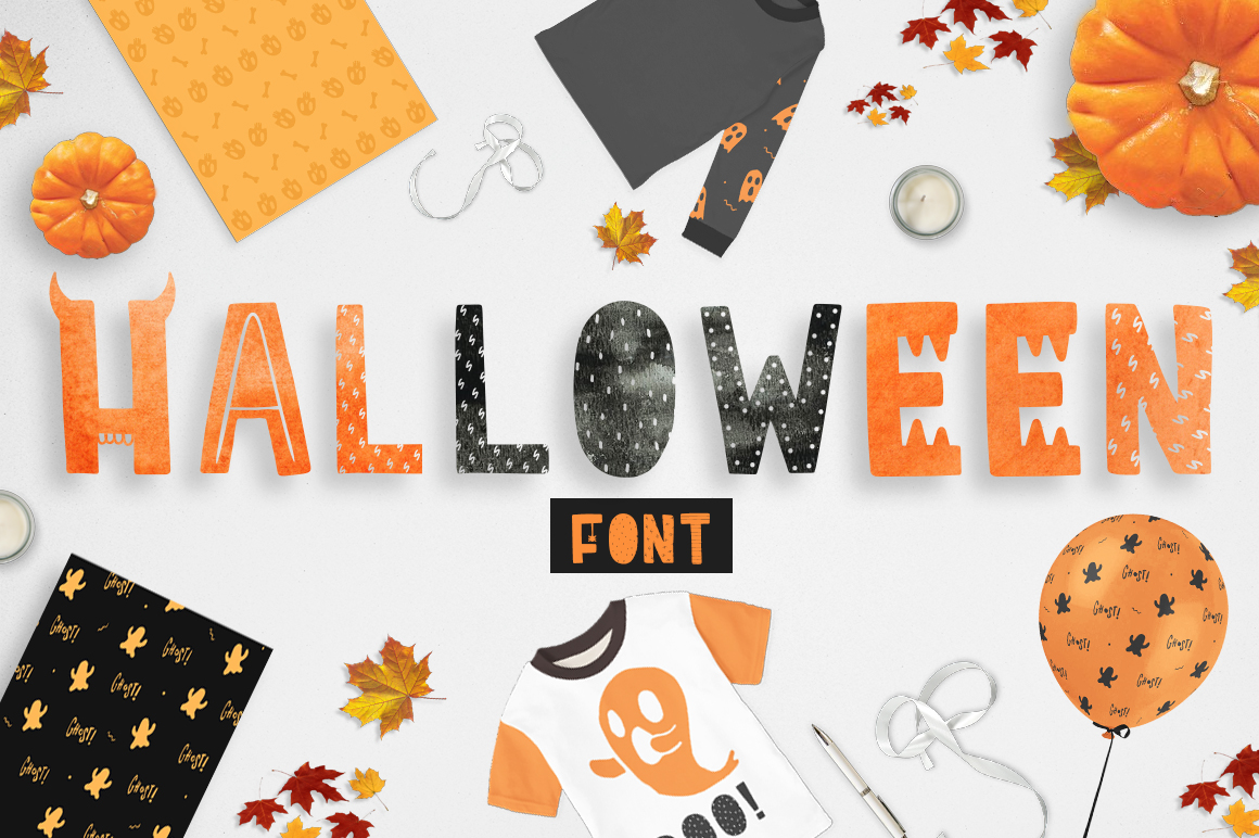 Print on Demand: Ha-Halloween Display Font By Latin Vibes