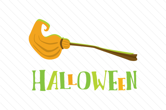 Halloween Broom Halloween Craft Cut File By Creative Fabrica Crafts