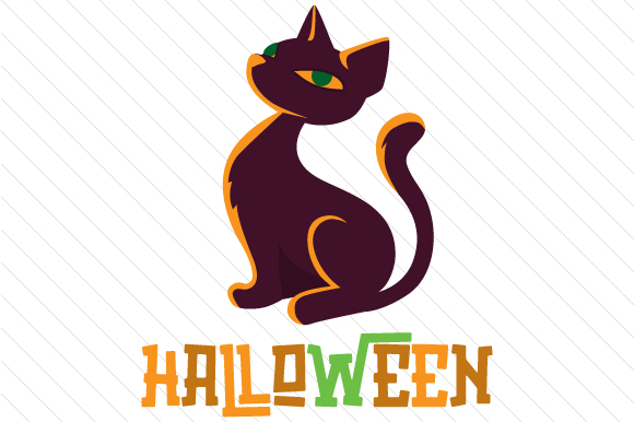 Halloween Cat Cats Craft Cut File By Creative Fabrica Crafts