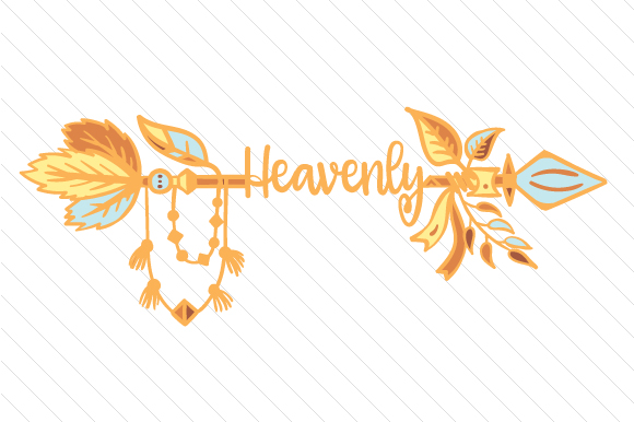 Heavenly Boho Craft Cut File By Creative Fabrica Crafts