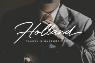Holland by Lettersiro Co.