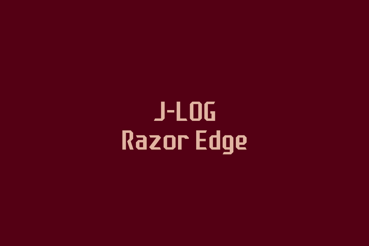 Print on Demand: J-LOG Razor Edge Sans Serif Font By jlog3K