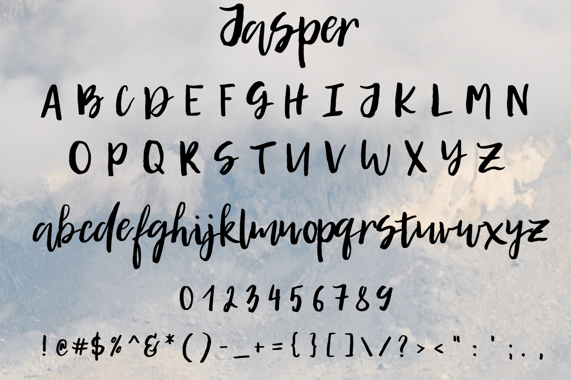 Print on Demand: Jasper Script & Handwritten Font By PaulaType - Image 7