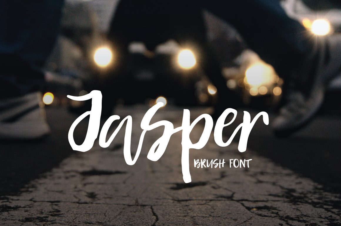 Print on Demand: Jasper Script & Handwritten Font By PaulaType - Image 1