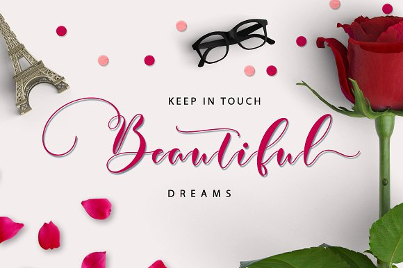 Print on Demand: Justmine Script & Handwritten Font By No Gravity Type - Image 2