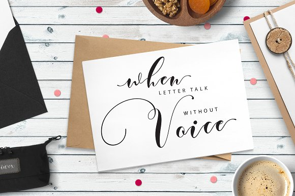 Print on Demand: Justmine Script & Handwritten Font By No Gravity Type - Image 5