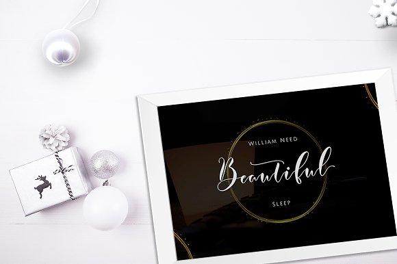 Print on Demand: Justmine Script & Handwritten Font By No Gravity Type - Image 8