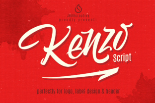 Kenzo Script + Swash (35% off) by JROH Creative