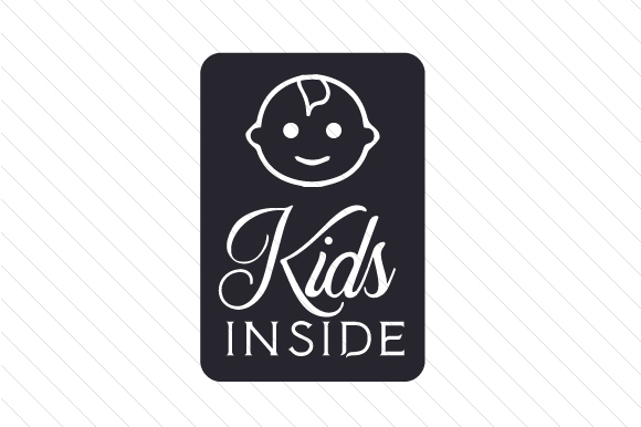 Kids Inside Family Car Craft Cut File By Creative Fabrica Crafts - Image 2