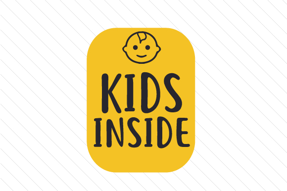 Kids Inside Family Car Craft Cut File By Creative Fabrica Crafts