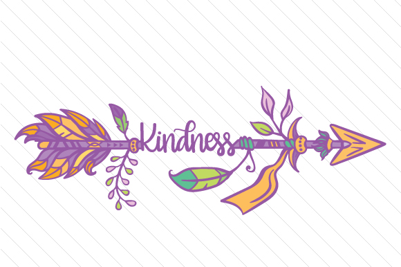 Kindness Boho Craft Cut File By Creative Fabrica Crafts