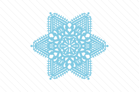 Lace / Doily Patterned Mandala Craft Design By Creative Fabrica Crafts