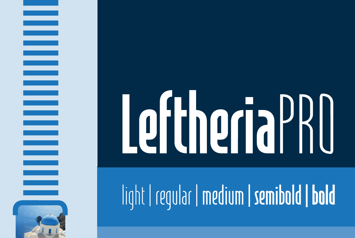 Print on Demand: LeftheriaPRO Sans Serif Font By Cort9 - Image 7