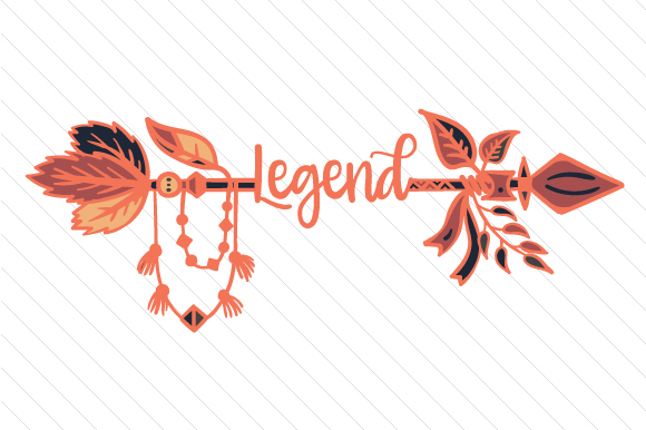 Legend Boho Craft Cut File By Creative Fabrica Crafts
