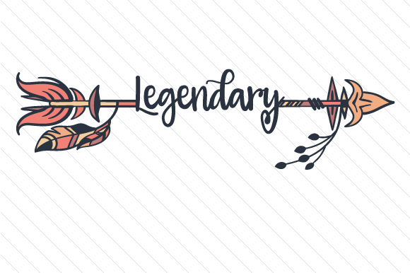 Legendary Boho Craft Cut File By Creative Fabrica Crafts