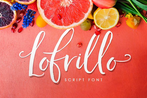 Download Free Lofrillo Font By Creativeqube Design Creative Fabrica for Cricut Explore, Silhouette and other cutting machines.