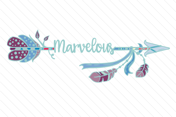 Marvelous Boho Craft Cut File By Creative Fabrica Crafts