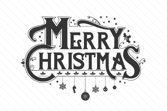 Merry Christmas Svg Cut File By Creative Fabrica Crafts