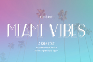 Miami Vibes by AutumnLanePaperie