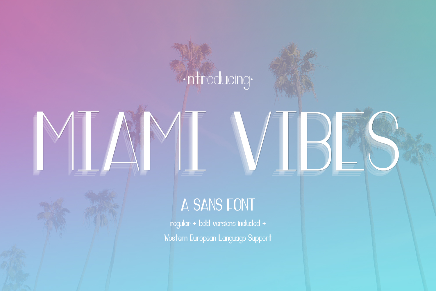 Print on Demand: Miami Vibes Sans Serif Font By BeckMcCormick