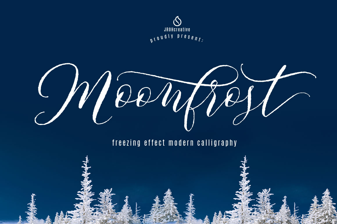 Moonfrost Font By JROH Creative