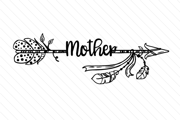Mother Boho Craft Cut File By Creative Fabrica Crafts - Image 2