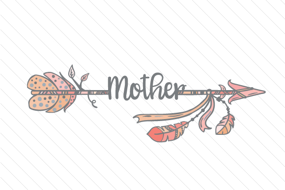 Mother Boho Craft Cut File By Creative Fabrica Crafts