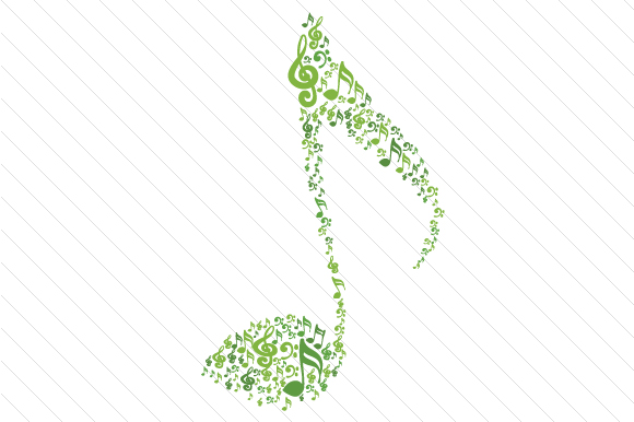 Musical Note Music Craft Cut File By Creative Fabrica Crafts