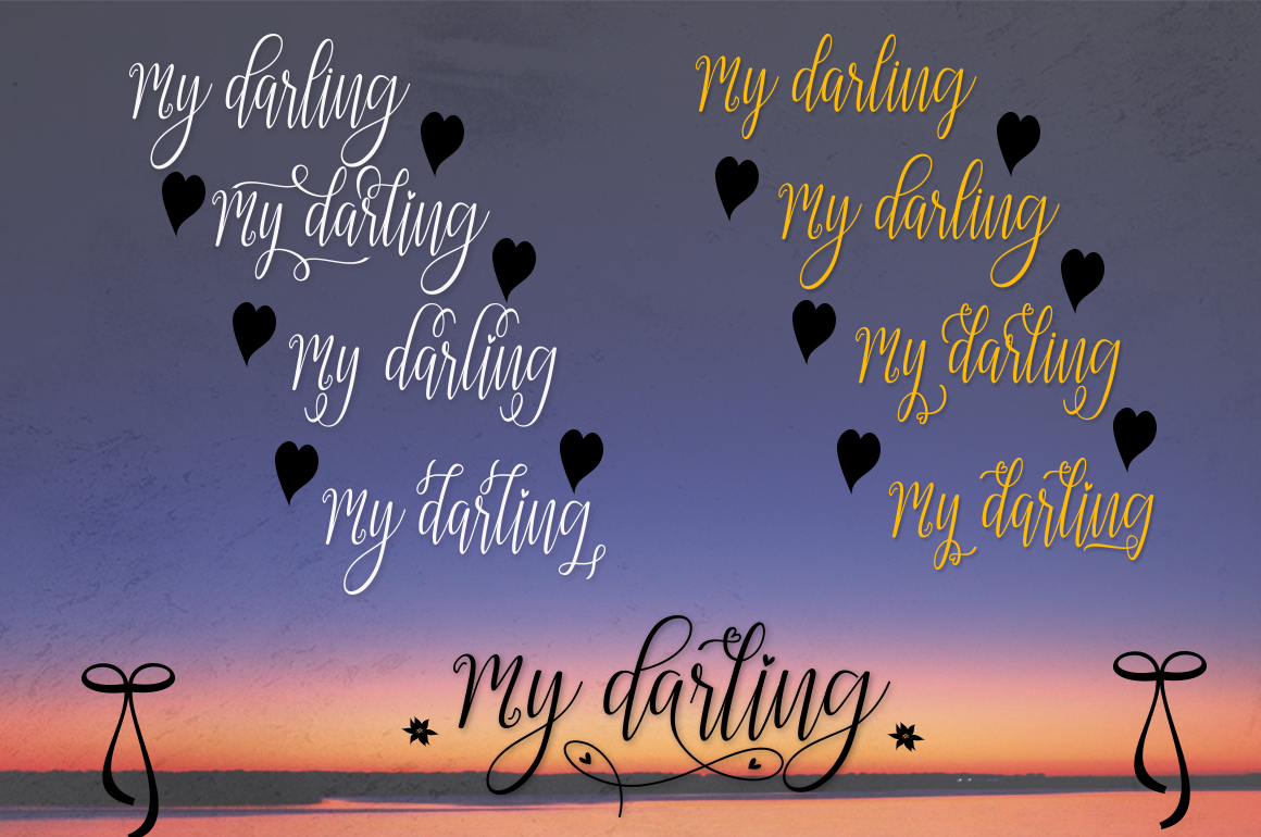 My Darling Font By Bexx Type Image 11