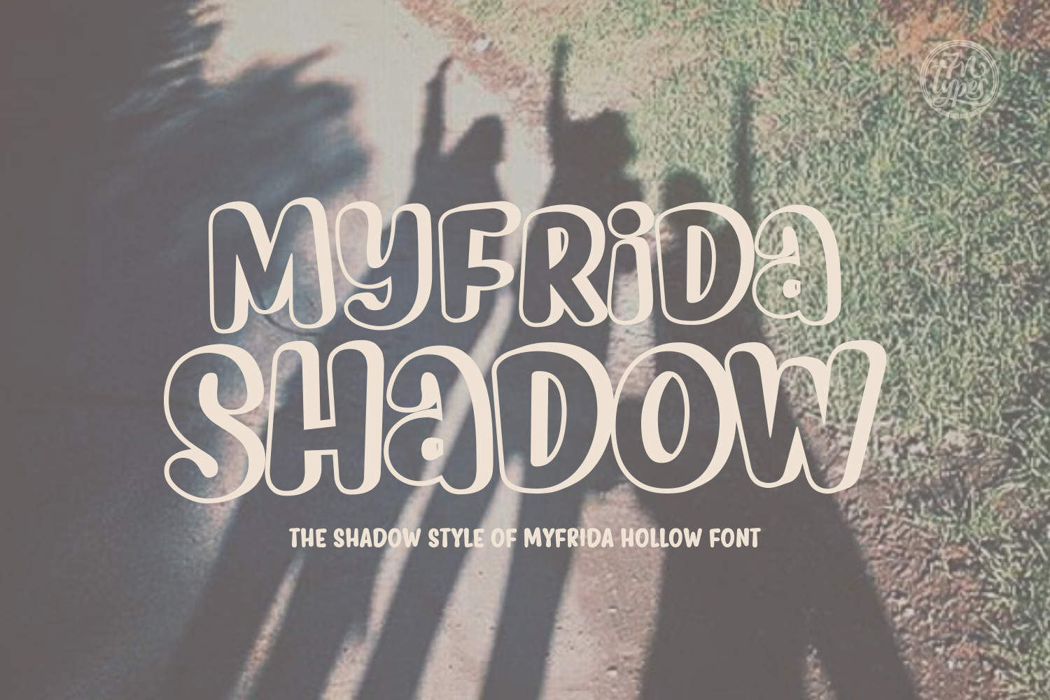 Print on Demand: Myfrida Shadow Script & Handwritten Font By Situjuh