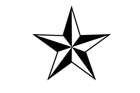 Download Free Nautical Star Svg Plotterdatei Von Creative Fabrica Crafts for Cricut Explore, Silhouette and other cutting machines.