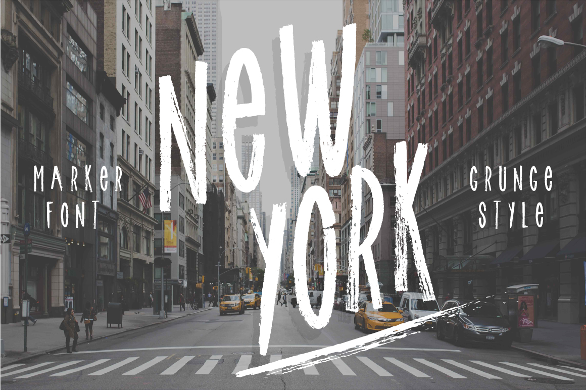 Print on Demand: New York Display Font By Latin Vibes