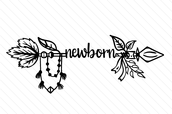 Newborn Boho Craft Cut File By Creative Fabrica Crafts - Image 2