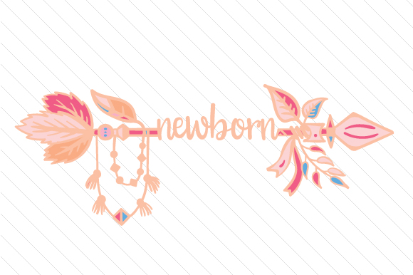 Newborn Boho Craft Cut File By Creative Fabrica Crafts - Image 1
