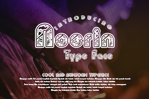 Print on Demand: Noerin Display Font By Gblack Id - Image 1