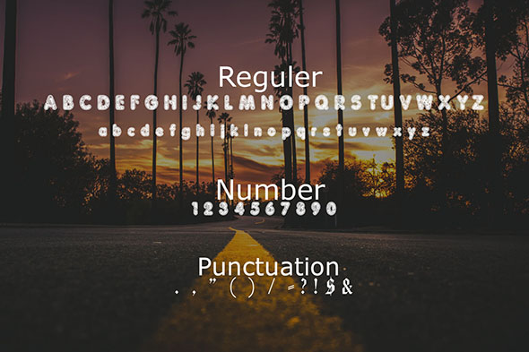 Pancala Font By Gblack Id Image 2