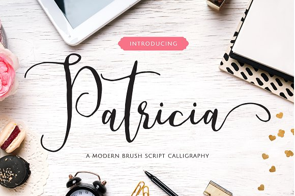 Print on Demand: Patricia Script & Handwritten Font By No Gravity Type