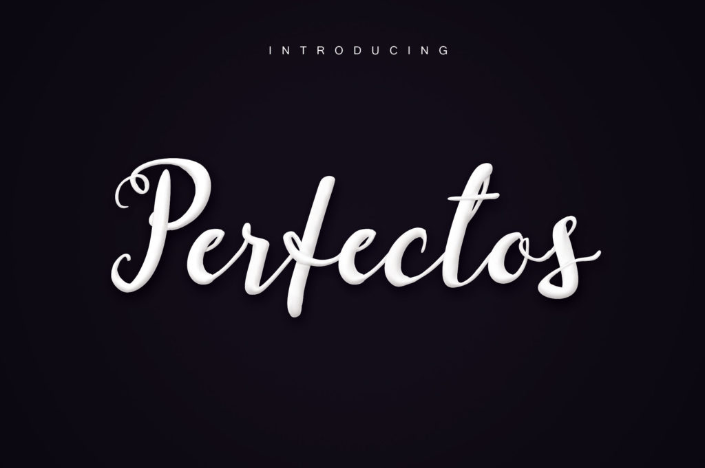 Print on Demand: Perfectos Script & Handwritten Font By Royaltype