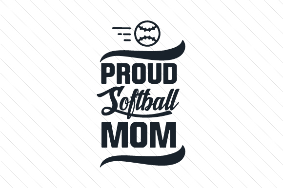Download Free Proud Softball Mom Svg Cut File By Creative Fabrica Crafts for Cricut Explore, Silhouette and other cutting machines.